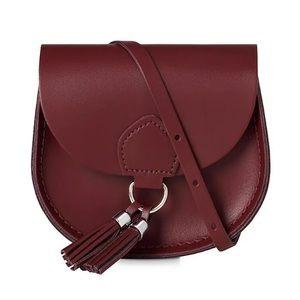 Cambridge Satchel Mini Tassel Saddle Bag